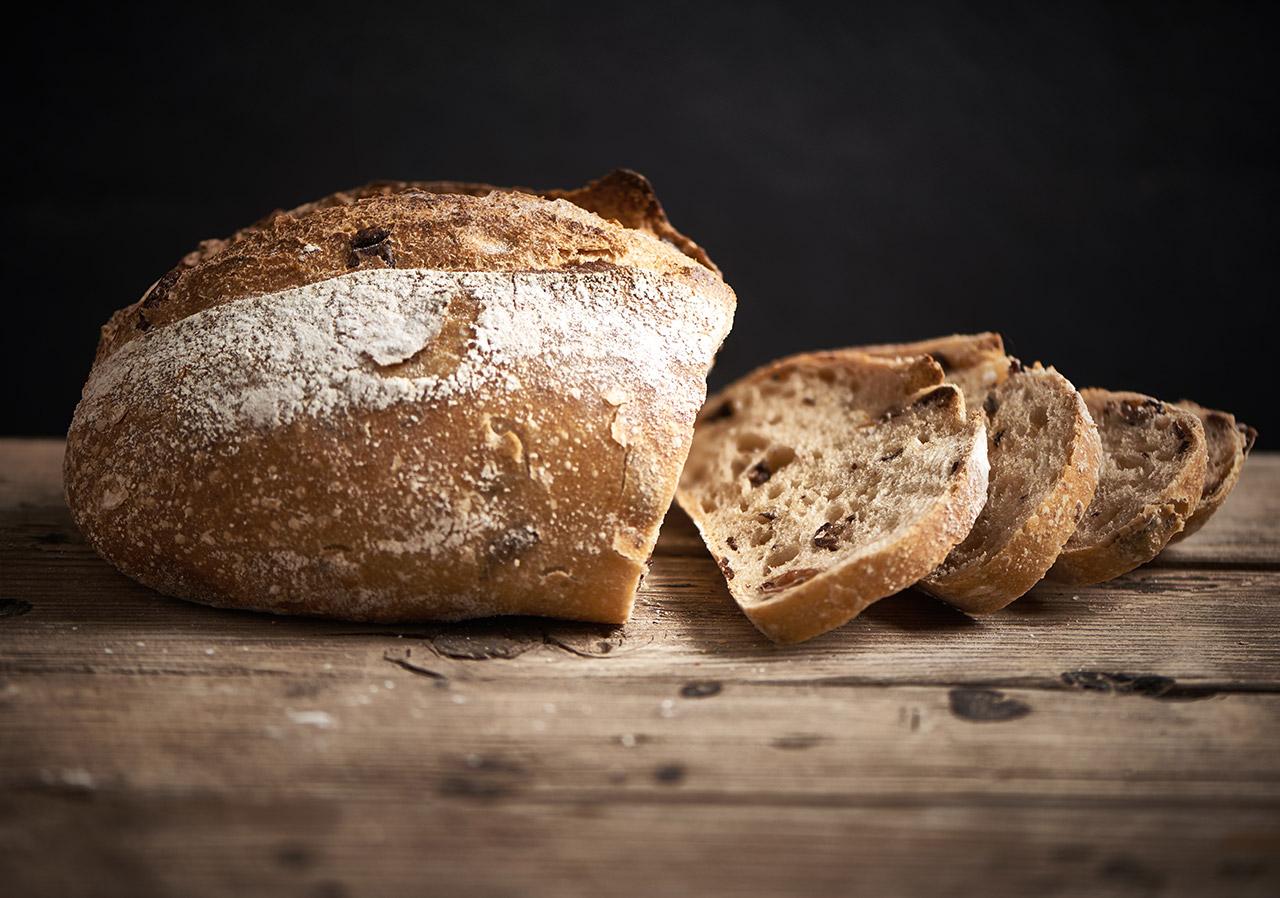 לחם כפרי זיתים